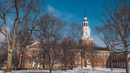 Dartmouth Campus during winter