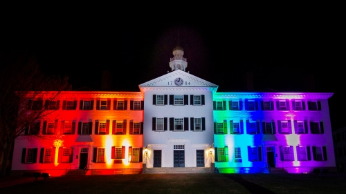 Dartmouth Hall Pride
