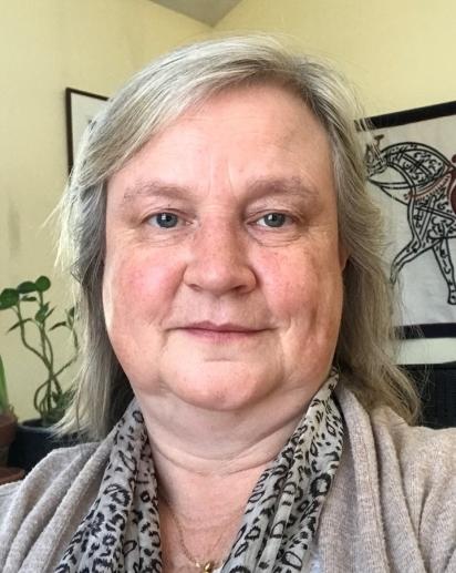 Photograph of Sylvia Shephard's face