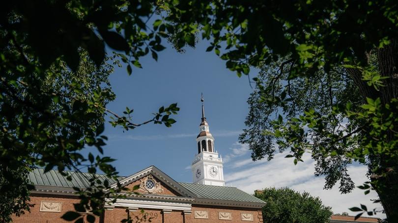 Photo of Dartmouth campus